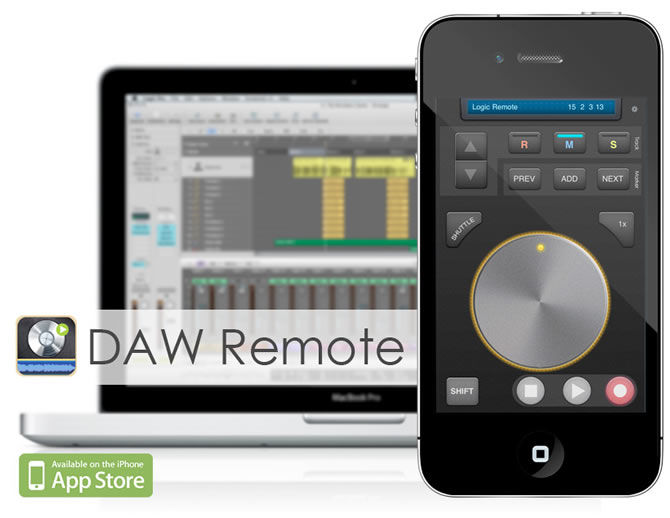 Only for Mac Users | Make your iPhone or iPad or iPod a Daw Remote