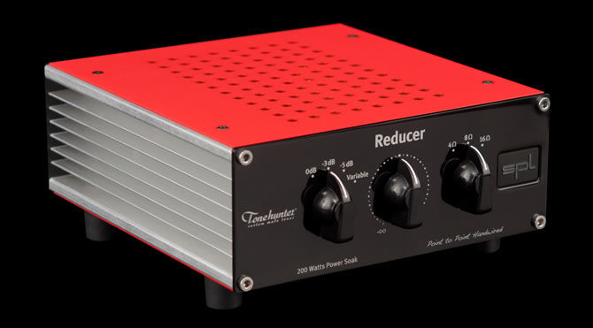 Power Attenuator for Guitar Amps | SPL Reducer - New Passive Power Soak from Sound Performance Lab and Tonehunter