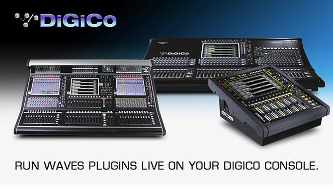 Waves updates SoundGrid for Digico Consoles