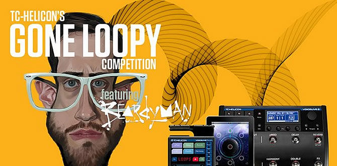 Competitions | Win $1000 US cash & a Free Lesson with Legendary Beatboxer Beardyman with TC-Helicon