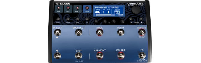 New Upgraded Hardware Processor | TC-Helicon Announces VoiceLive 2 Extreme Edition