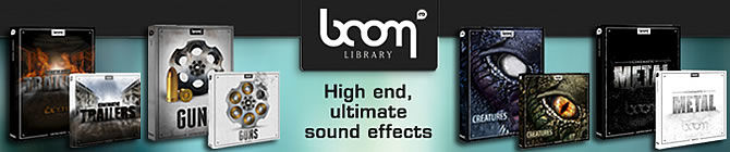 Time+Space announce the arrival of Boom Library to their Download Store