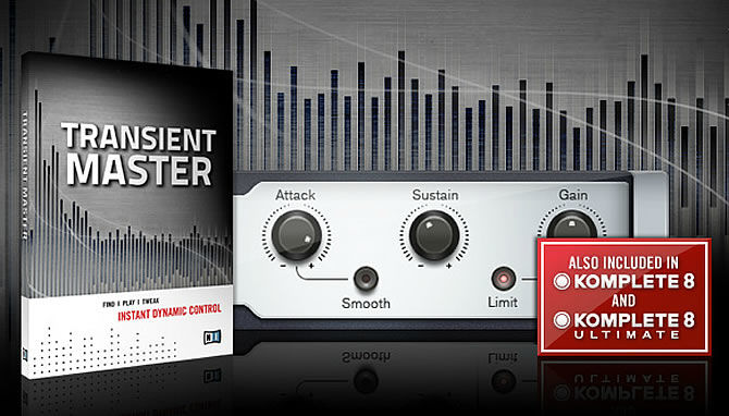 Native Instruments News | Transient Master - Instant Dynamic Control