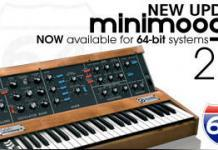 Arturia Minimoog goes to Version 2.5