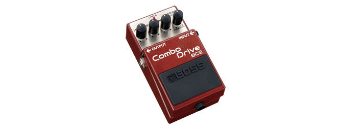 Boss announces BC-2 Combo Drive Compact Pedal