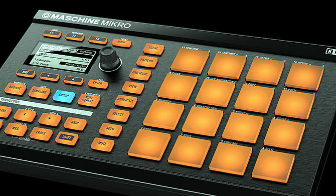 Native Instruments announces Maschine Mikro Controller
