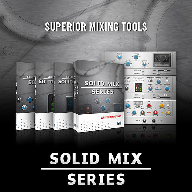 New High-End Studio Effects from Native Instruments | Solid Mix Series