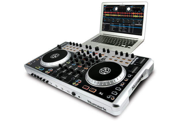 N4 - A New 4 Channel Dj Controller with Mixer from Numark