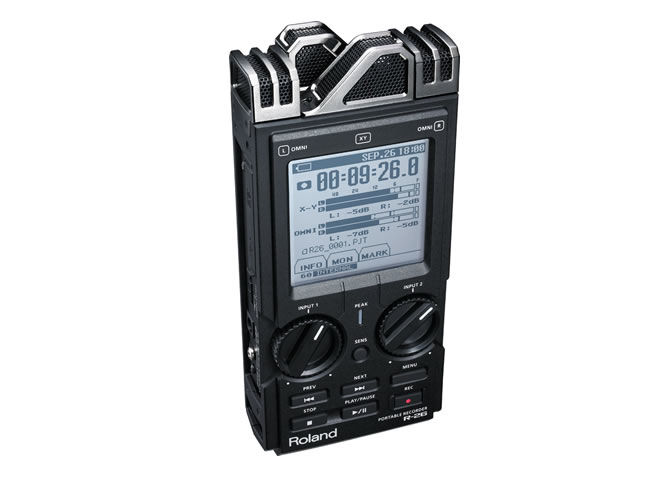 Roland releases R-26 Portable Recorder
