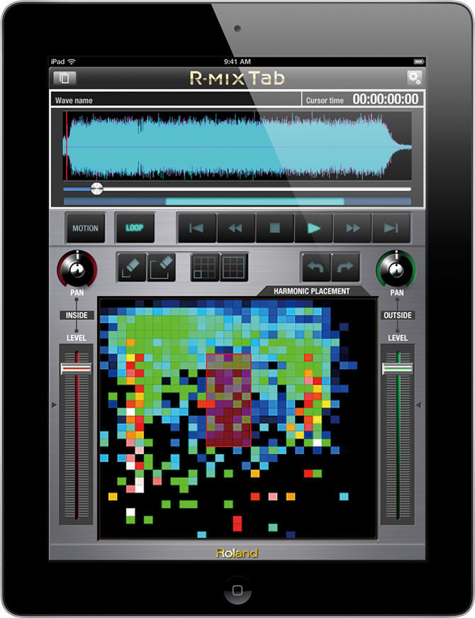 Roland announces R-MIX Tab for iPad