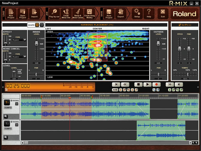 New audio processing software | Roland announces R-MIX