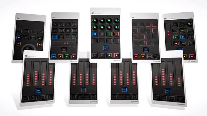 Steinberg introduces the CMC USB Controller Series for Cubase