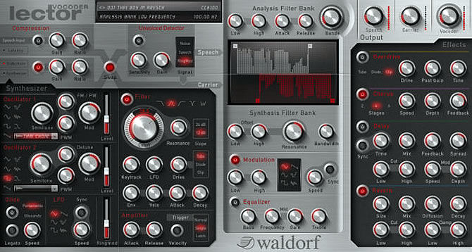 Waldorf releases Lector Vocoder Plugin for Mac and PC