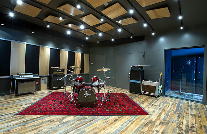 Guitar Center Professional partners Converse for Brooklyn Rubber Tracks Recording Studio Facility