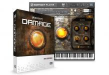 "Native Instruments Damage contains over 700 beat-sliced percussive loops as well as 58 multi-sampled kits, including an arsenal of unique ""Damage Hits"" for distinctive stings and transitions. Loop Menus can be mixed and matched easily to create complex layered rhythms, while Single Loops offer detailed playback control for intuitive sound tweaking. Certain kits are based on sophisticated ensemble-style recordings, with multiple velocity and round-robin layers, to provide true performance dynamics and a wide range of impact."