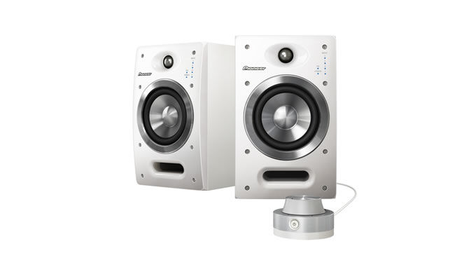 Pioneer S-DJ05-W Active Monitors for DJs / Producers will come in stylish glossy white