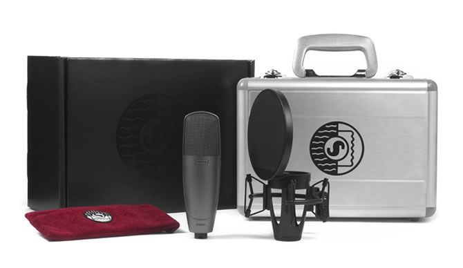 Unique Squared Mobile Studio is powered by Shure