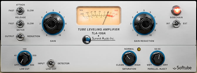 Softube Summit Audio TLA-100A Compressor Plug-in