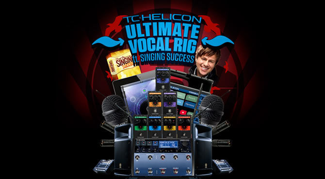 TC-Helicon and Singing Success announces The Vocalist's Ultimate Rig Competition