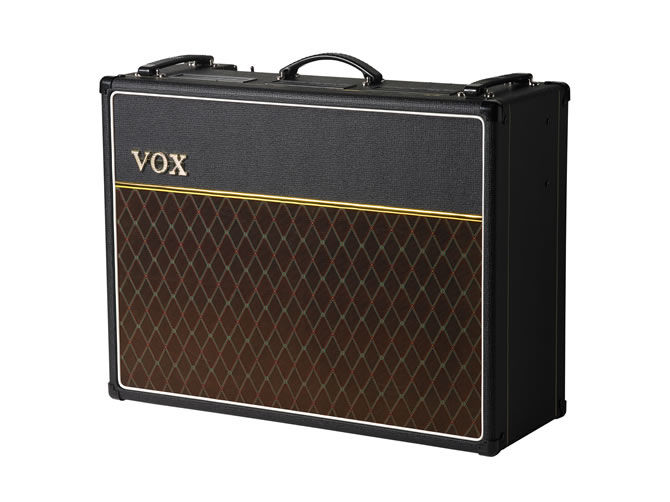 VOX Amplification's New AC15C2 Twin Combo Amp from AC Custom Series is now shipping