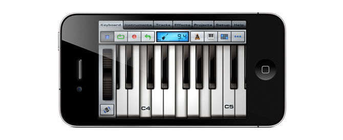 Xewton Music Studio for iPad, iPhone & iPod Touch was updated to version 2.0