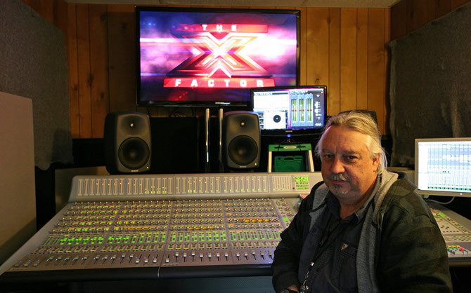 Genelec Active Monitors used for Remote Mixing on The X Factor