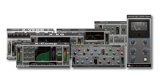 Native RTAS versions of SSL Duende Plug-ins now available on SSL web site
