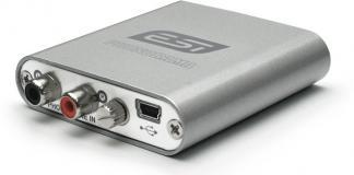 ESI Audio is introducing the Phonorama USB audio interface