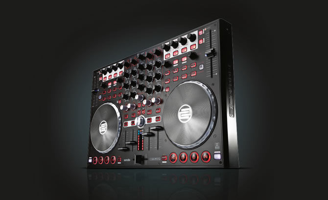 Reloop Terminal Mix 4 | 4-Deck performance controller for Serato with integrated interface