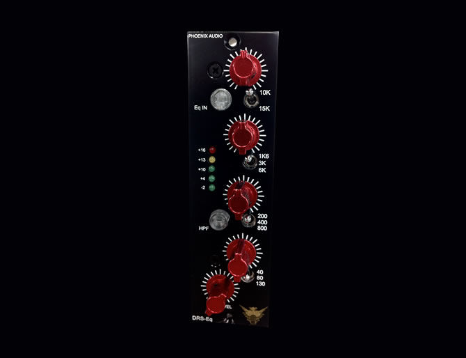Phoenix Audio DRS-EQ/500 is now shipping