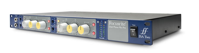 ISA Two, the new Mic Preamp from Focusrite