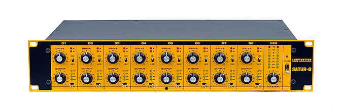 Satur-8, the new 8ch Summing Mixer from Looptrotter Audio Engineering