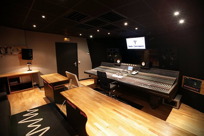 Recording Studios | Contrepoint - Orleans, France