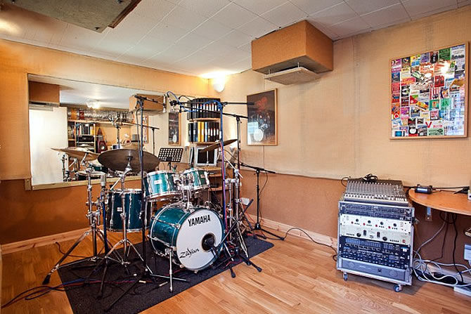 Recording Studios | The Drum Shed - London, England