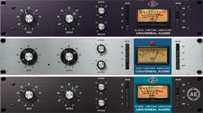 Universal Audio releases 1176 Classic Limiter Collection for UAD-2 Platform