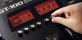 Boss ships GT-100 Amp Effects Processor