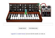 "Moog Synth Google Doodle to mark 78th birth anniversary of Robert Arthur ""Bob"" Moog"