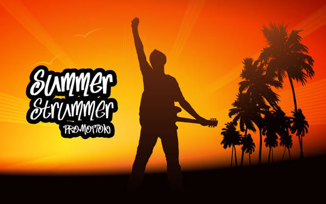 Summer Strummer Promo from IK Multimedia: 70% Off on AmpliTube 3 Plus Other Great Savings