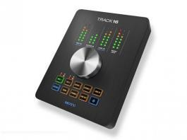 Motu is now shipping Track 16, the newest 16x14 desktop studio audio interface
