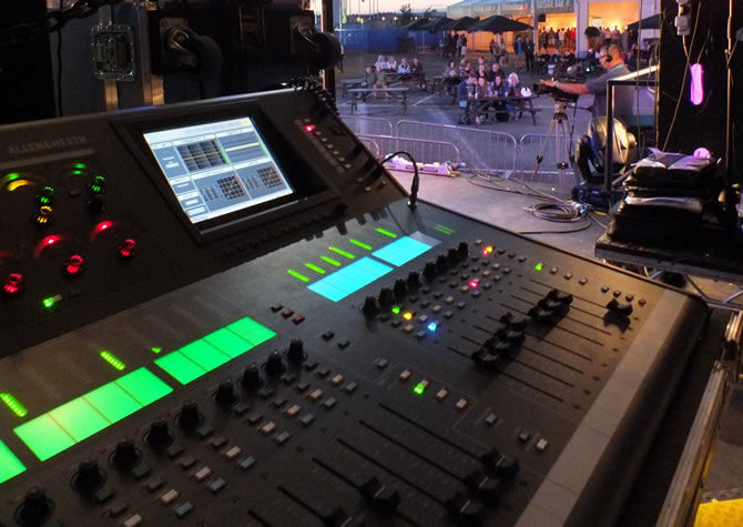Allen & Heath sails in for the Olympics
