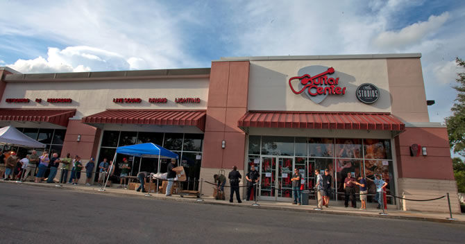 Guitar Center has opened a new store in New Ocala, Florida