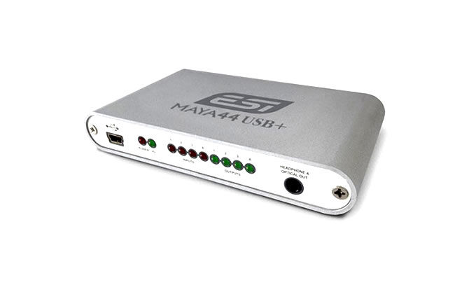 ESI has released Maya44 USB+, a powerful, yet affordable USB audio solution