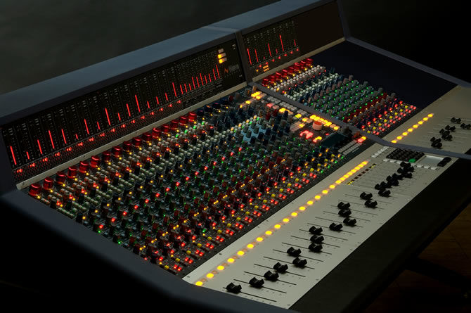 Guitar Center Pro offers Neve Genesys Console with New EQ Option