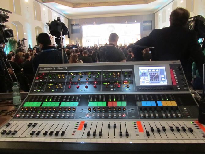 iLive used for international conference