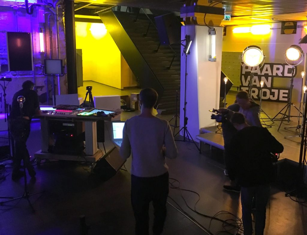 Allen & Heath's dLive and ME digital mixing systems feeds top dutch radio show