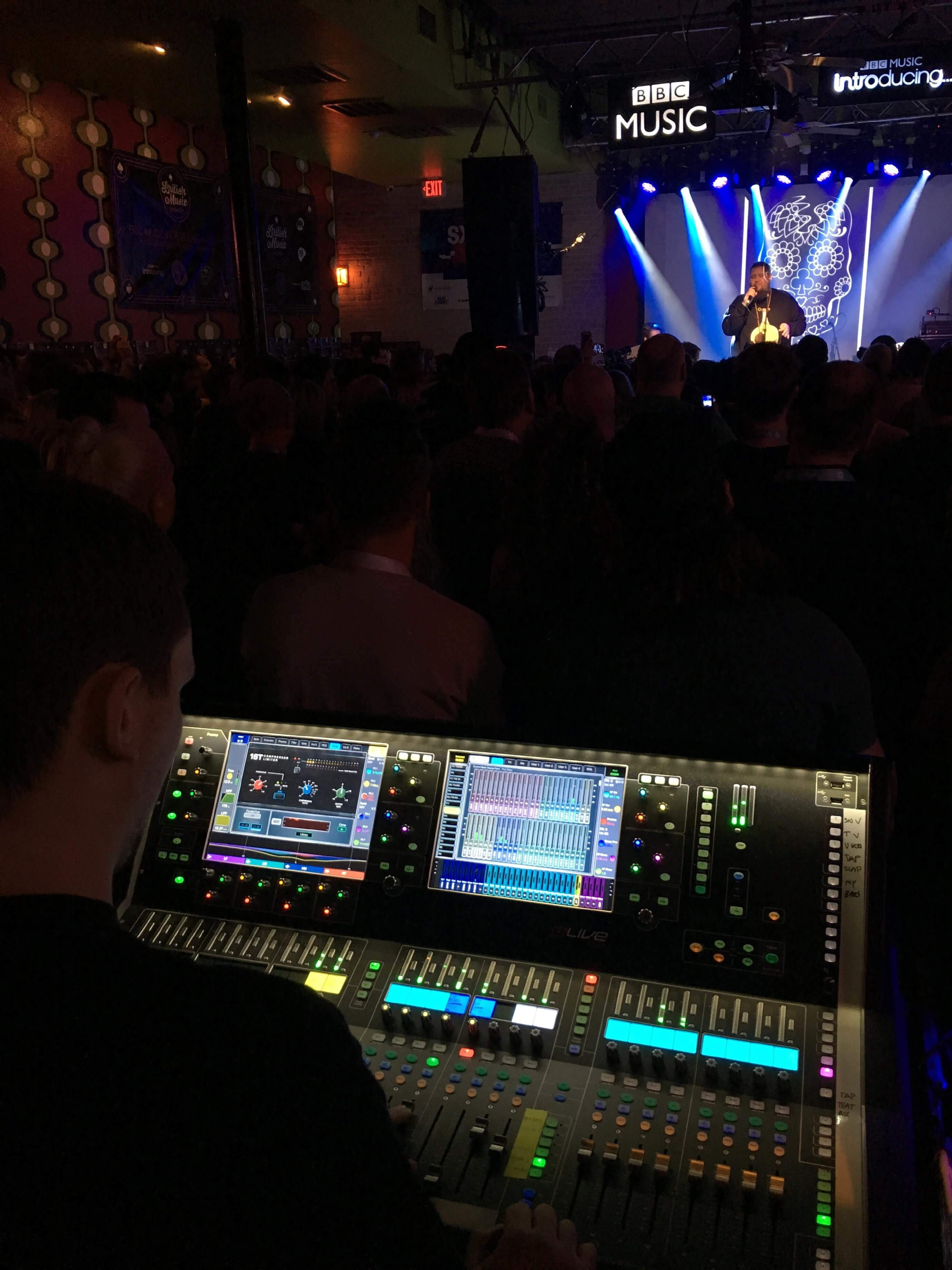 Allen & Heath digital mixers were once again at the forefront of this year's South by Southwest Music and Media Conference (SXSW) in Austin, Texas, USA.
