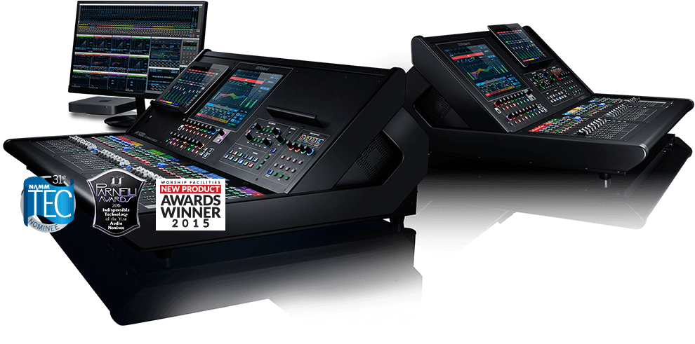 Roland M-5000 OHRCA Live Mixing Consoles