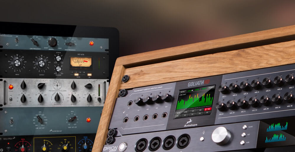 Antelope Audio Goliath HD Interface brings colossal l/O and Processing capabilities to Pro Tools HD