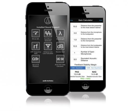 Audio-Technica Releases Updates to Popular Installed Sound Support iPhone App