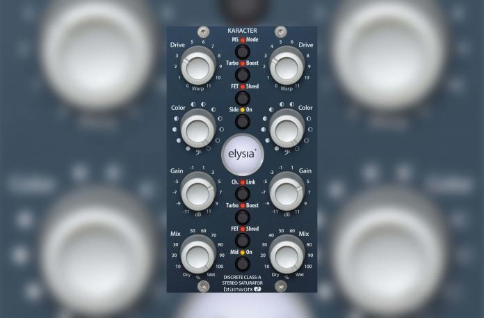 Plugin Alliance adds new karacter to DAW domain with exacting emulation of elysia stereo saturator